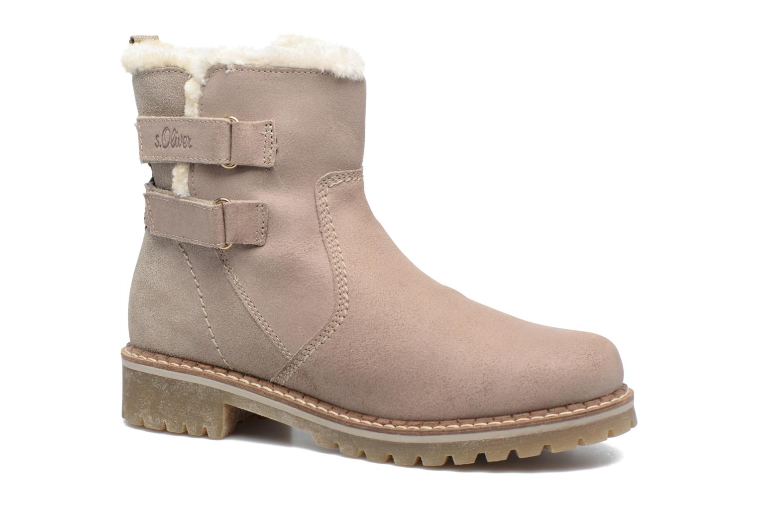 Ankle boots S.Oliver Nilma Beige detailed view/ Pair view