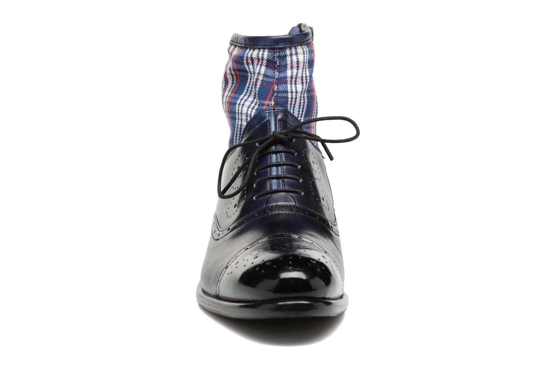 Bottines et boots Melvin & Hamilton Patrick 4 Bleu vue portées chaussures