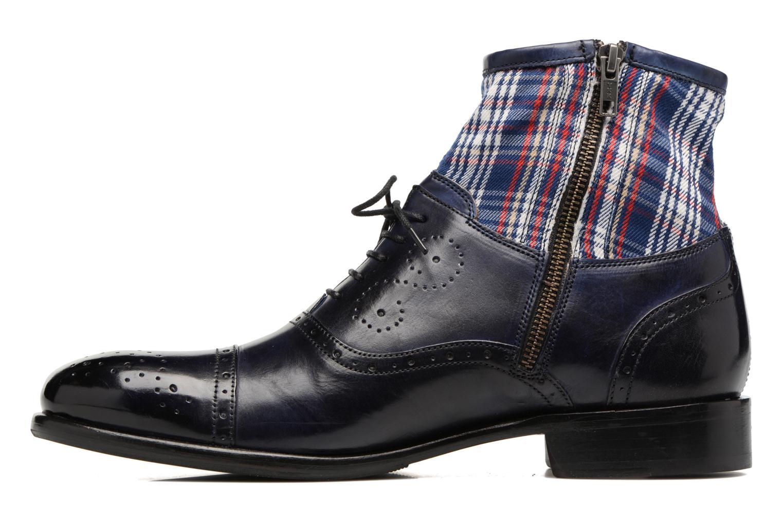 Bottines et boots Melvin & Hamilton Patrick 4 Bleu vue face