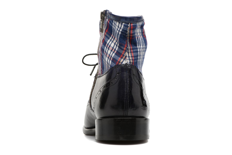 Bottines et boots Melvin & Hamilton Patrick 4 Bleu vue droite