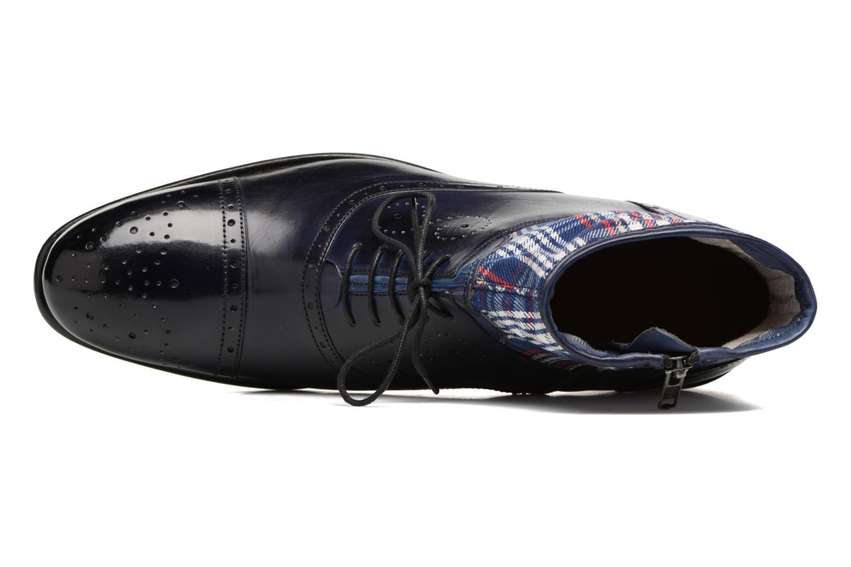 Bottines et boots Melvin & Hamilton Patrick 4 Bleu vue gauche