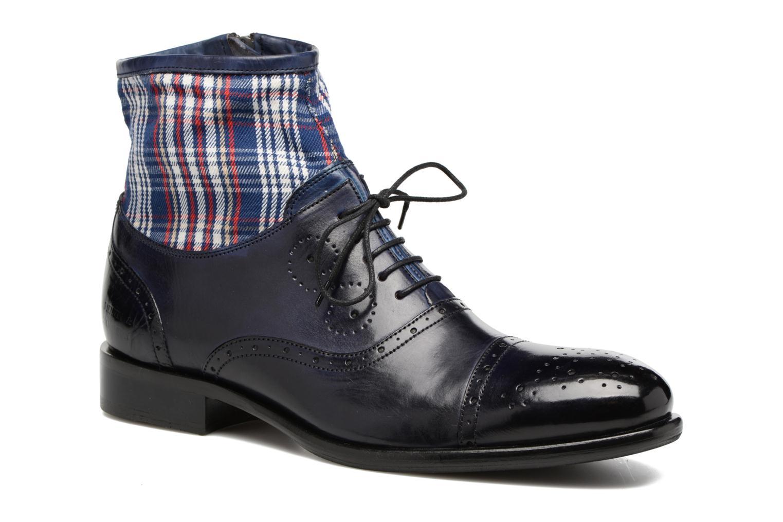 Bottines et boots Melvin & Hamilton Patrick 4 Bleu vue détail/paire