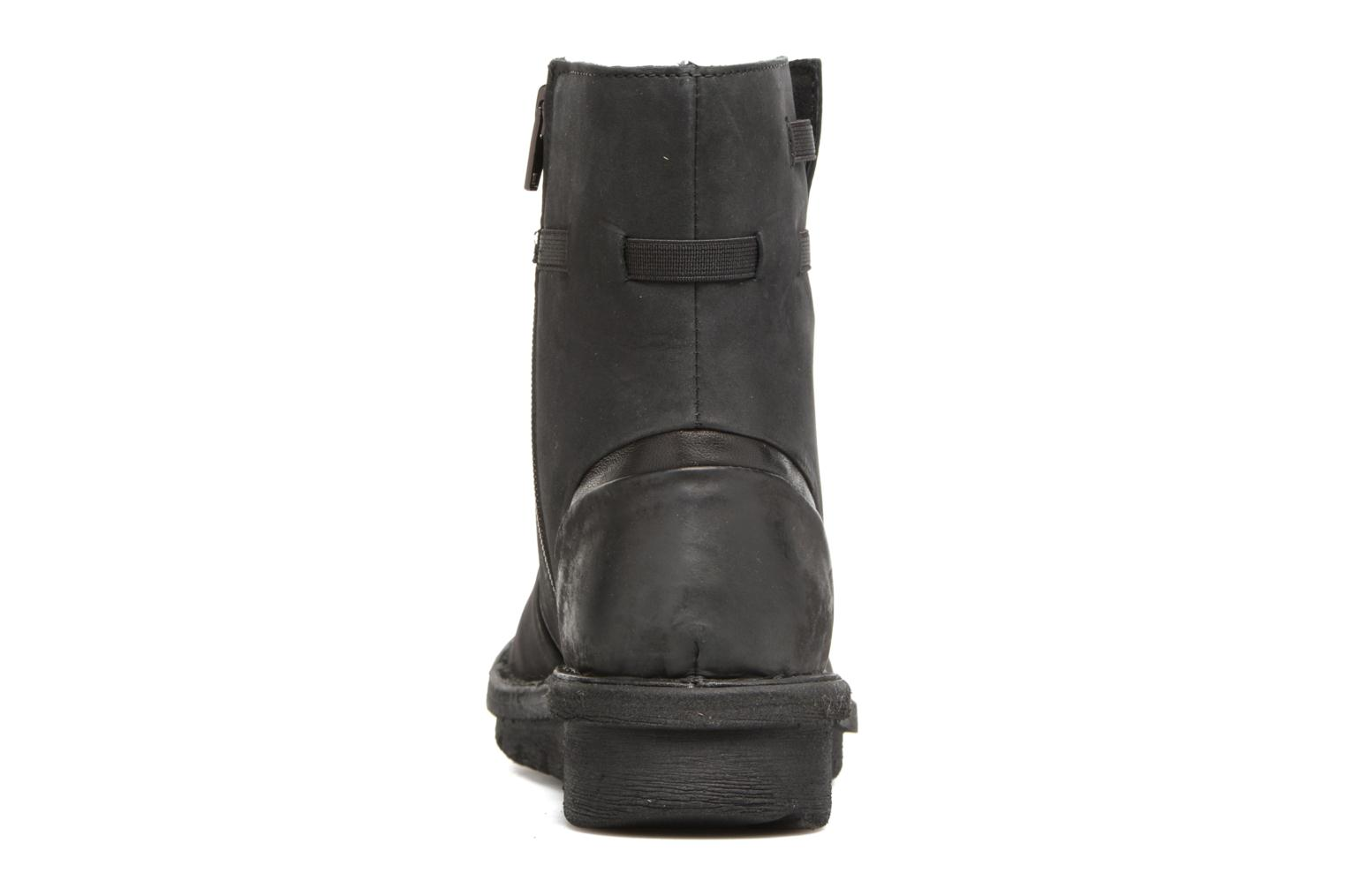 Ankle boots Khrio Todese Black view from the right