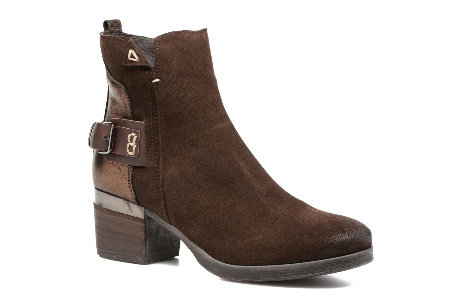 Marques Chaussure femme Khrio femme Valema velours cacao tdm