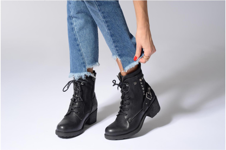 Stiefeletten & Boots Tom Tailor Saphia schwarz ansicht von unten / tasche getragen
