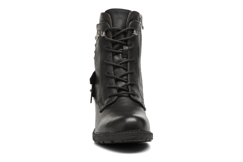 Bottines et boots Tom Tailor Saphia Noir vue portées chaussures