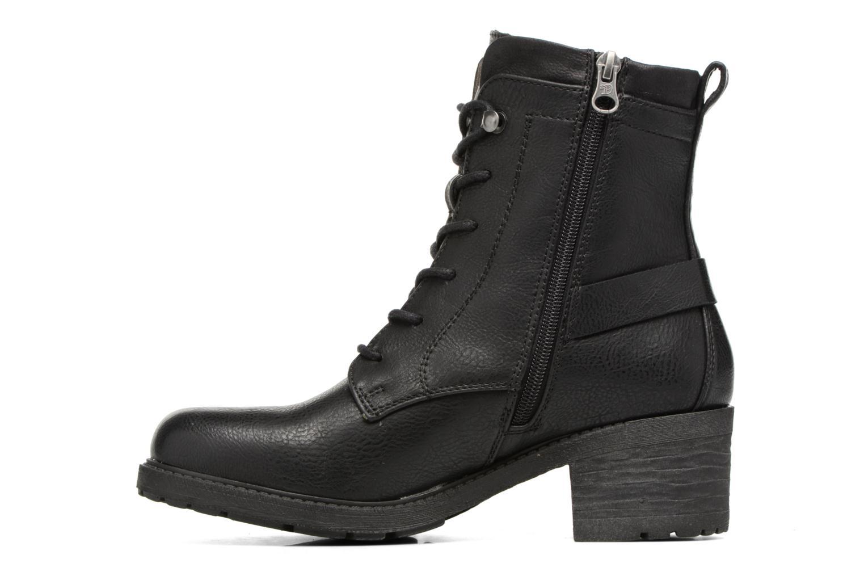 Boots en enkellaarsjes Tom Tailor Saphia Zwart voorkant