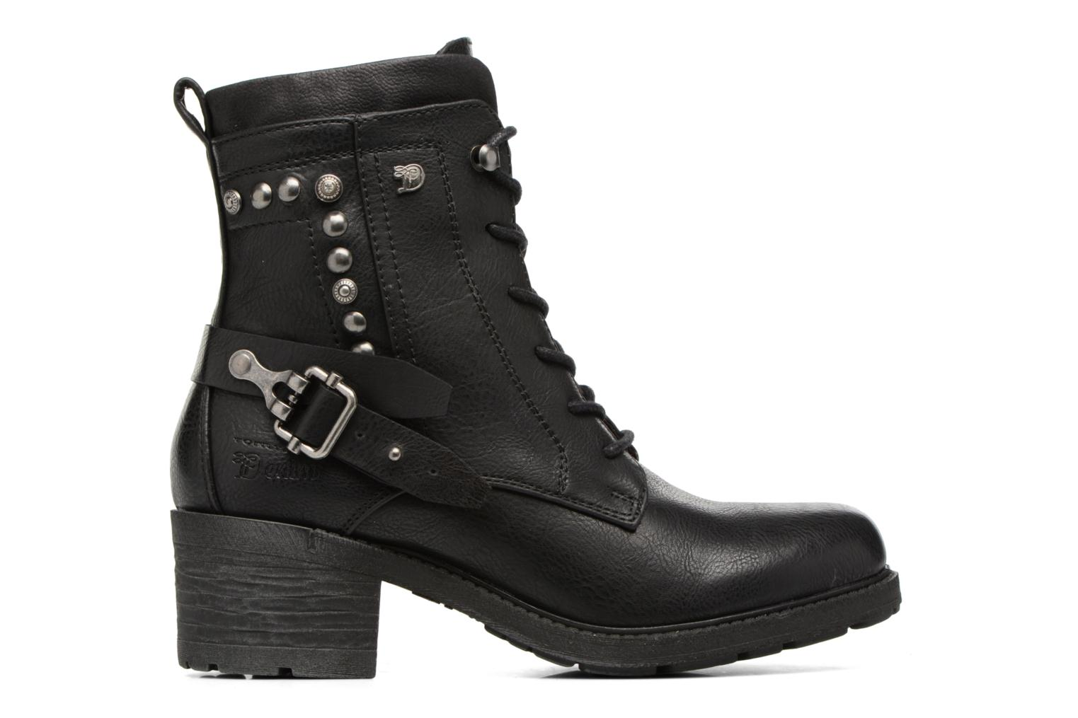 Ankle boots Tom Tailor Saphia Black back view