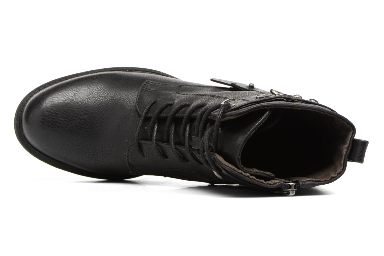 Stiefeletten & Boots Tom Tailor Saphia schwarz ansicht von links
