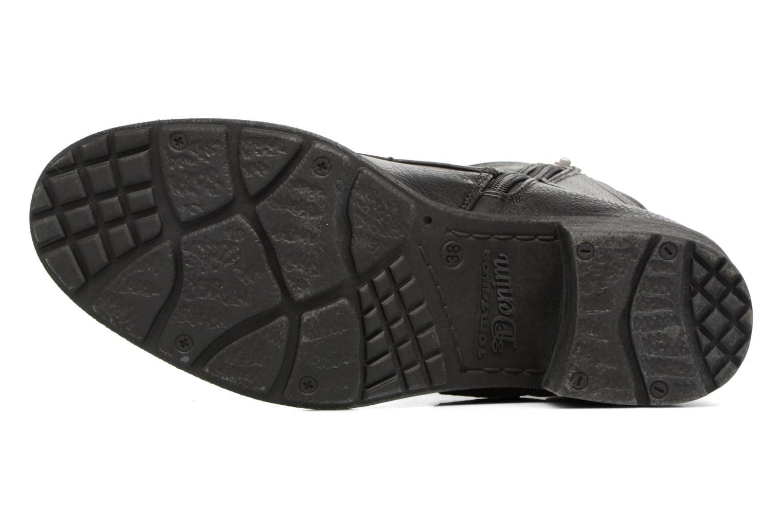 Stiefeletten & Boots Tom Tailor Saphia schwarz ansicht von oben