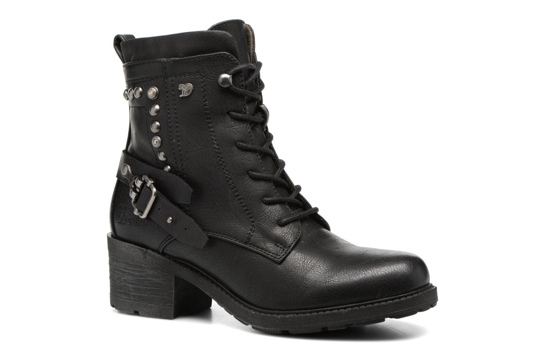 Bottines et boots Tom Tailor Saphia Noir vue détail/paire