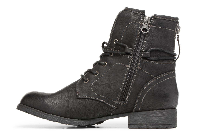 Bottines et boots Tom Tailor Sophia Noir vue face