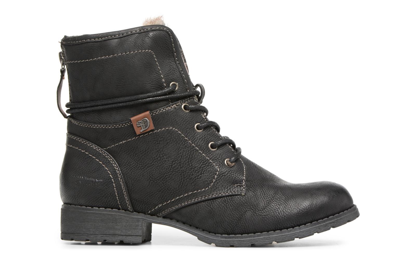 Bottines et boots Tom Tailor Sophia Noir vue derrière