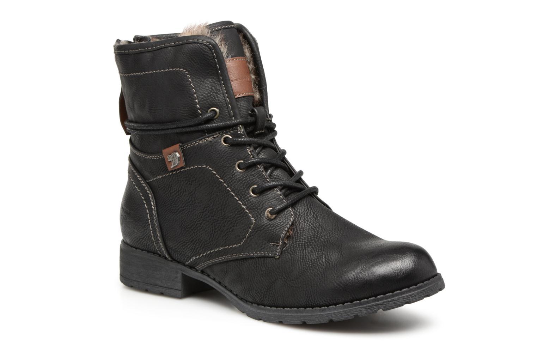 Bottines et boots Tom Tailor Sophia Noir vue détail/paire