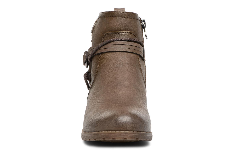 Bottines et boots Tom Tailor Sabrina Marron vue portées chaussures