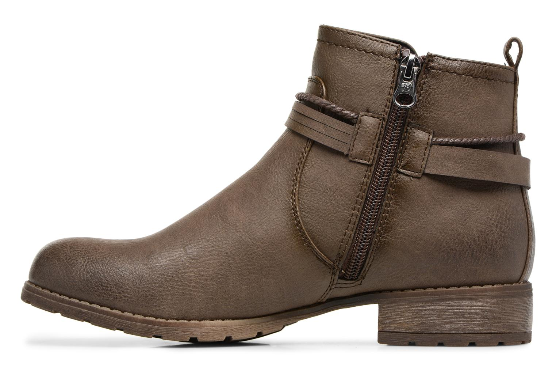 Bottines et boots Tom Tailor Sabrina Marron vue face