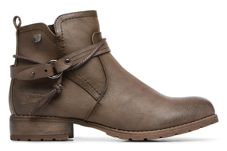Bottines et boots Tom Tailor Sabrina Marron vue derrière
