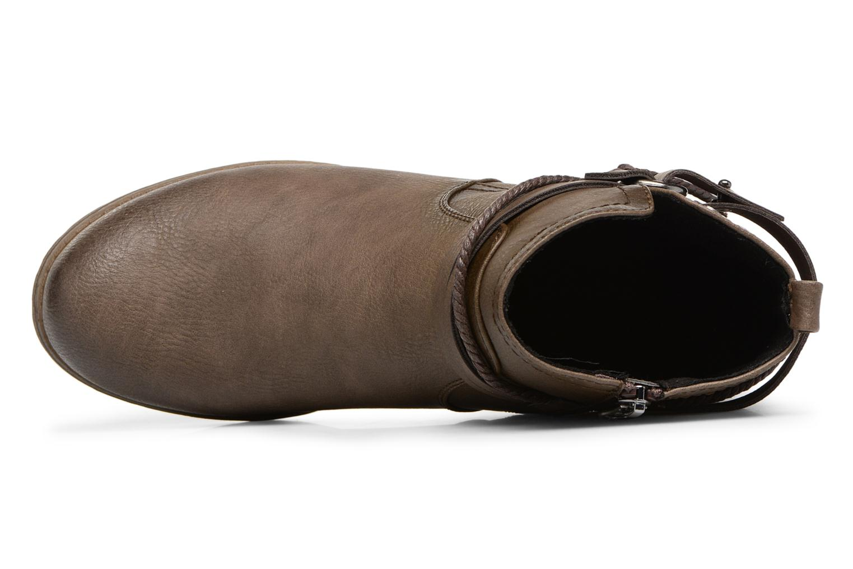 Bottines et boots Tom Tailor Sabrina Marron vue gauche