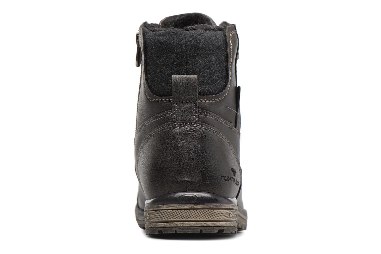 Bottines et boots Tom Tailor Marius Gris vue droite