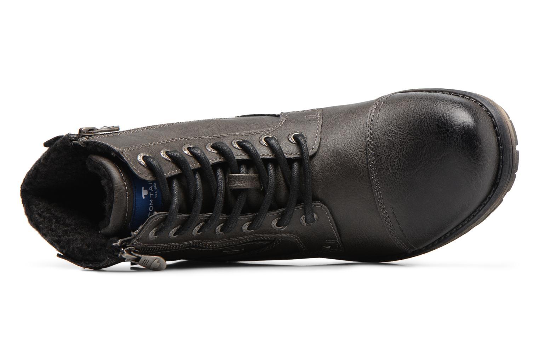Bottines et boots Tom Tailor Marius Gris vue gauche