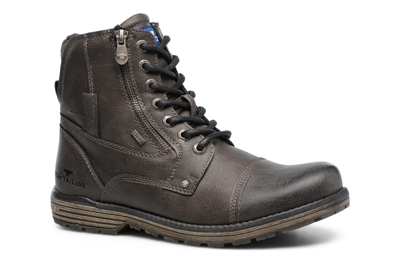 Bottines et boots Tom Tailor Marius Gris vue détail/paire