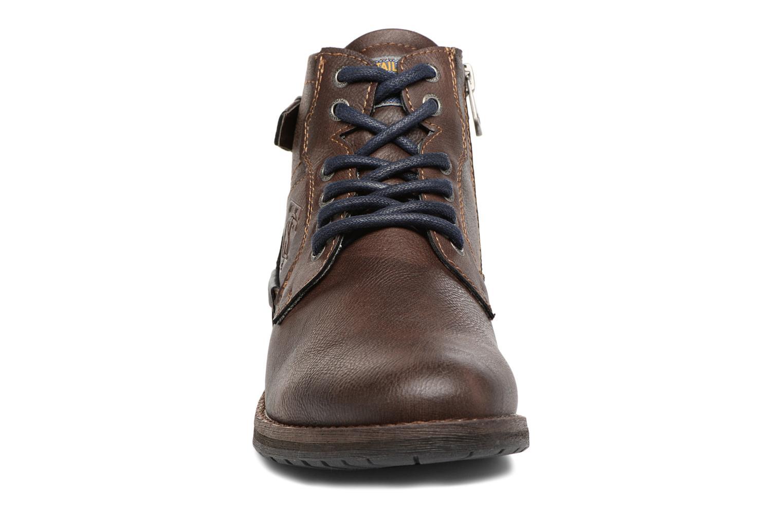 Bottines et boots Tom Tailor Rafael Marron vue portées chaussures