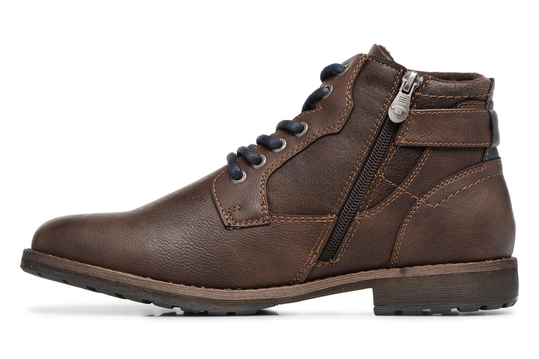 Bottines et boots Tom Tailor Rafael Marron vue face