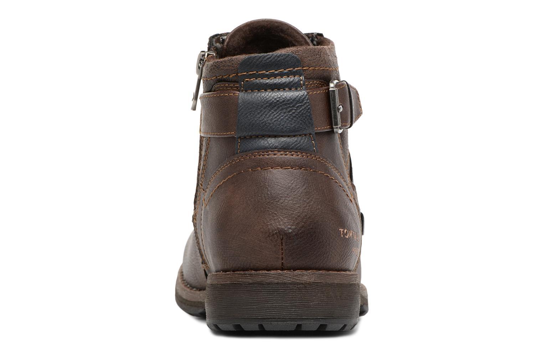 Bottines et boots Tom Tailor Rafael Marron vue droite