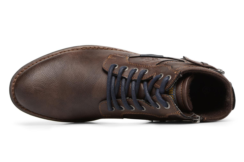 Bottines et boots Tom Tailor Rafael Marron vue gauche