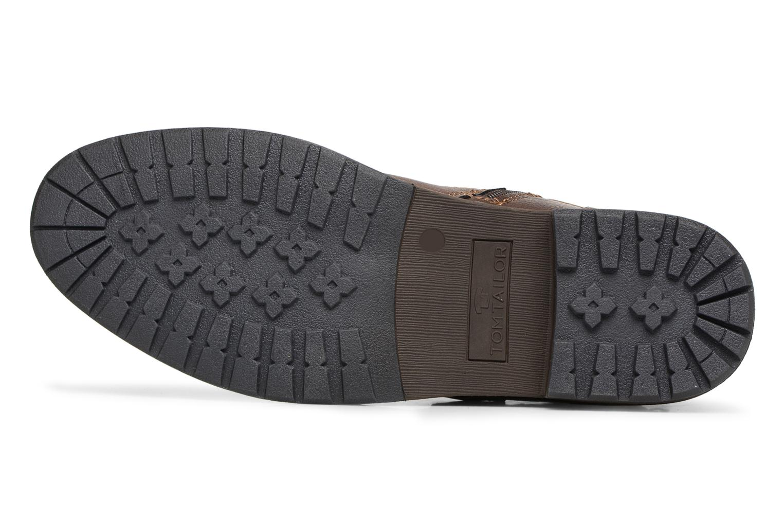 Bottines et boots Tom Tailor Rafael Marron vue haut