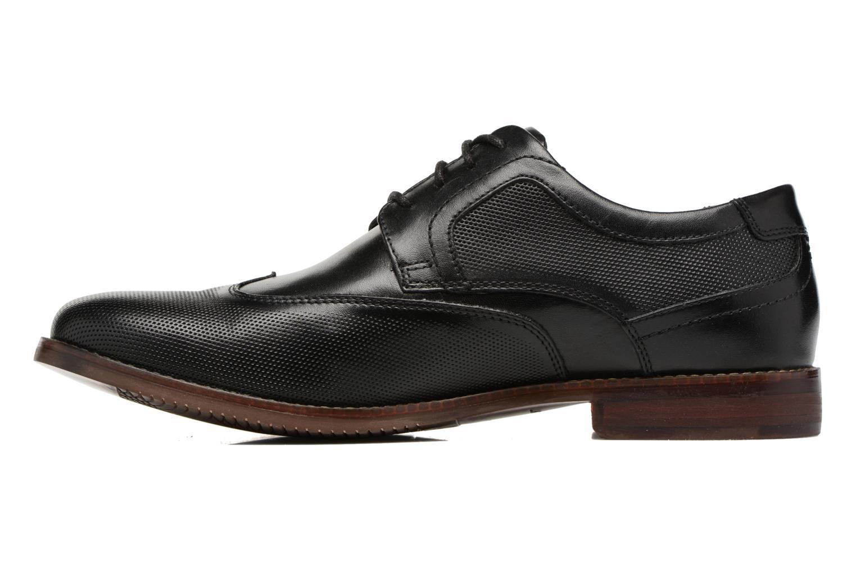Chaussures à lacets Rockport SP Perf Wingtip Noir vue face