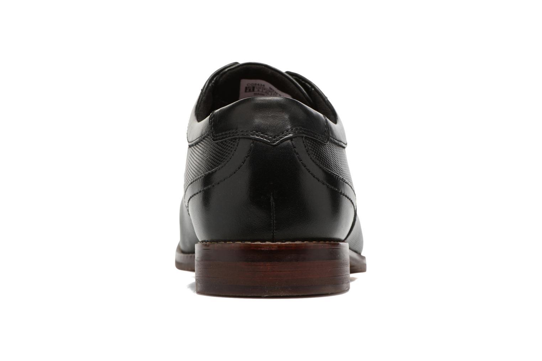 Chaussures à lacets Rockport SP Perf Wingtip Noir vue droite