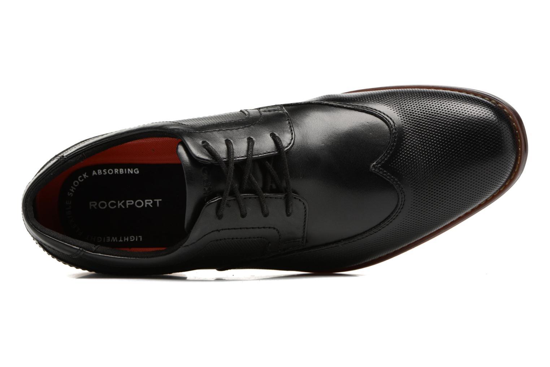 Chaussures à lacets Rockport SP Perf Wingtip Noir vue gauche