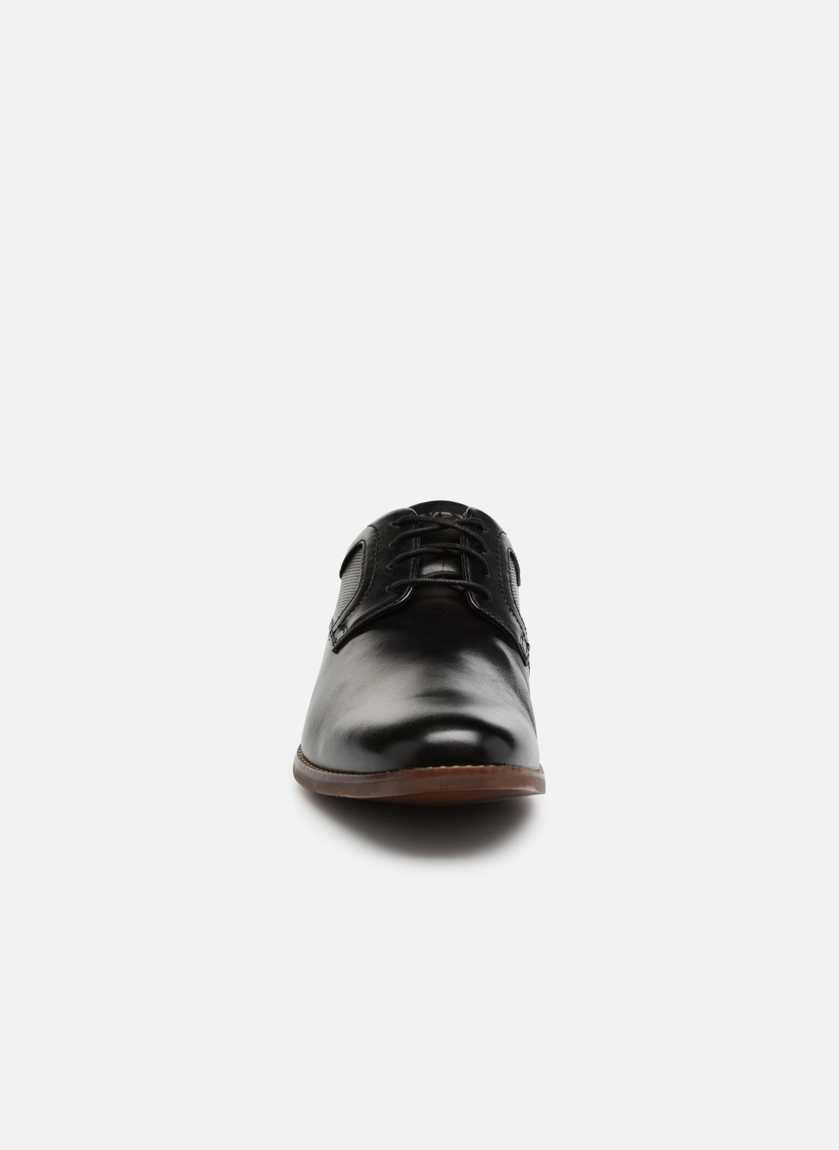 Chaussures à lacets Rockport SP Perf Plain Toe Noir vue portées chaussures