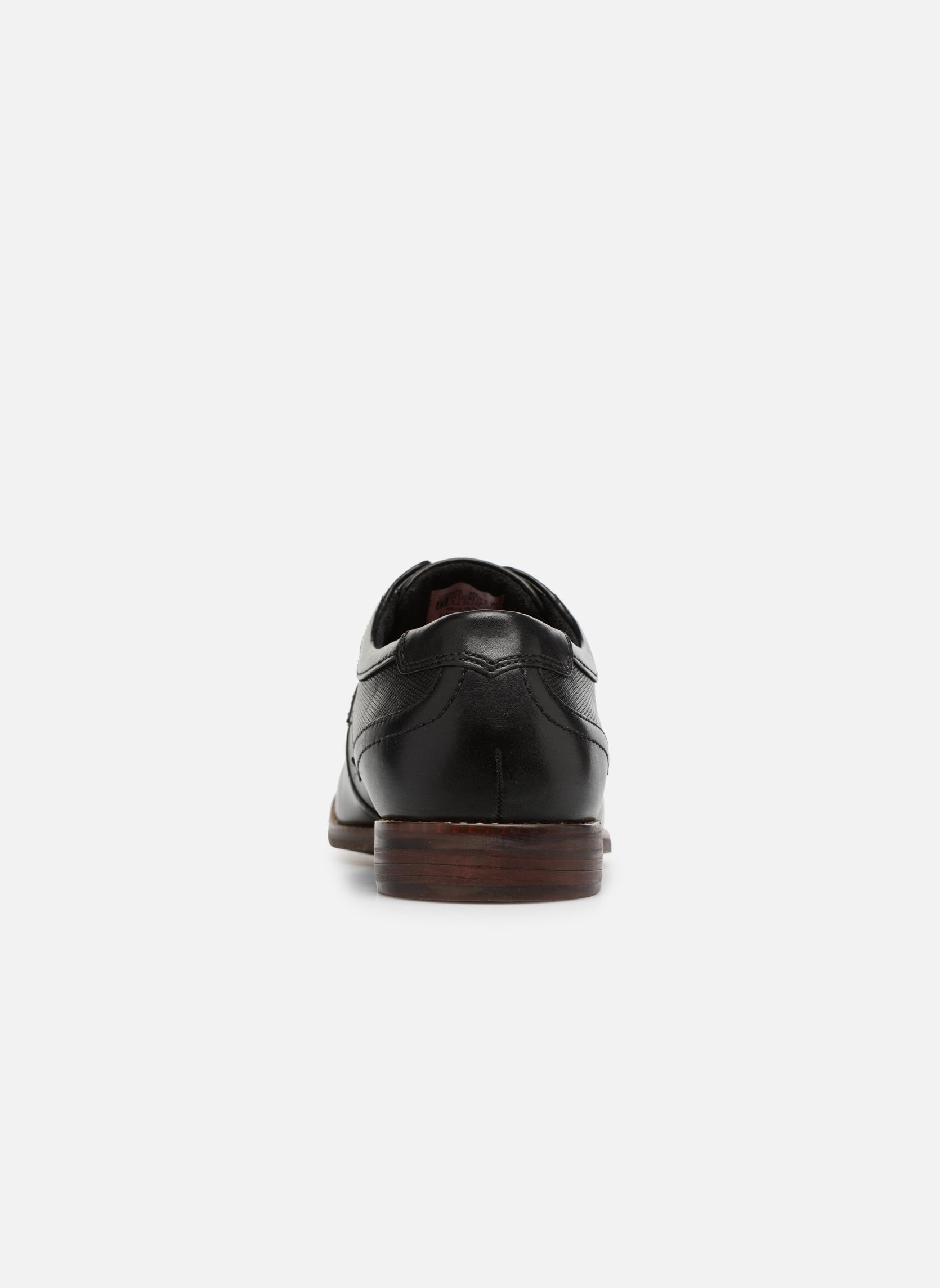 Chaussures à lacets Rockport SP Perf Plain Toe Noir vue droite