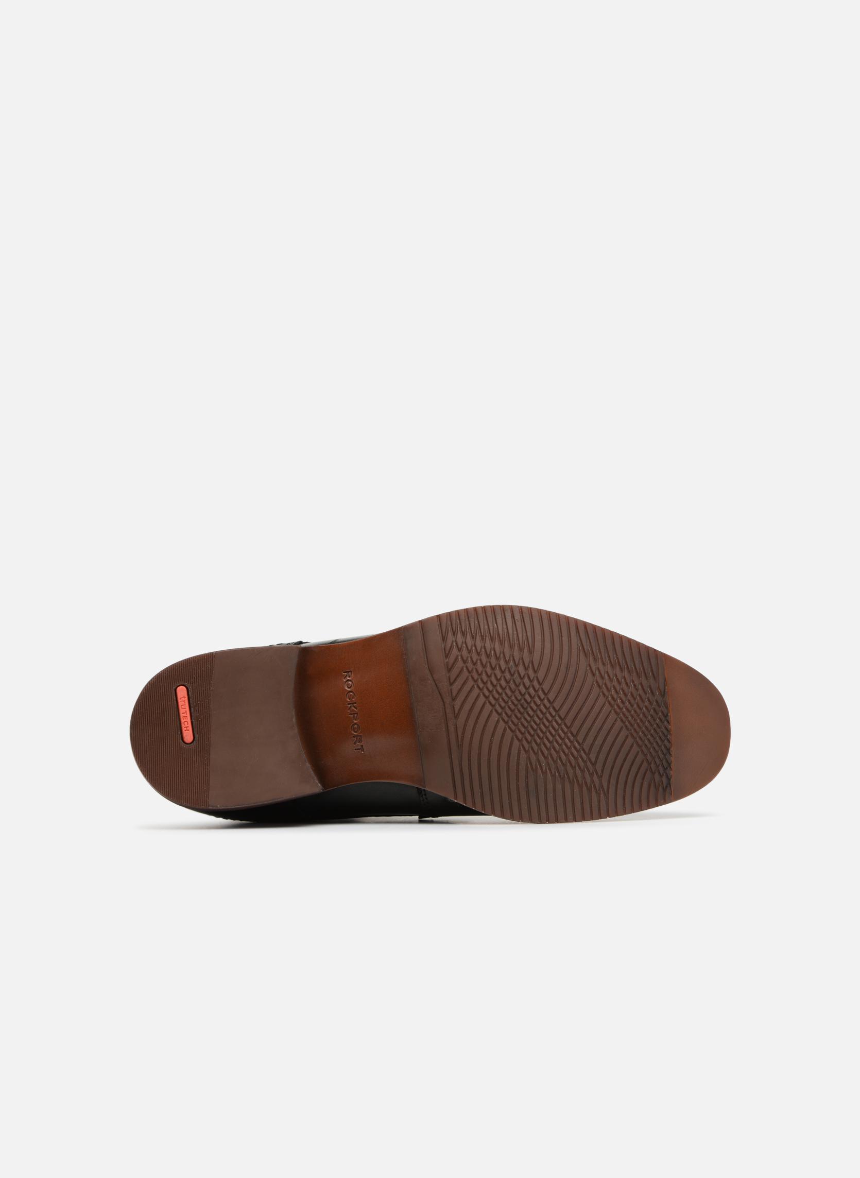 Chaussures à lacets Rockport SP Perf Plain Toe Noir vue haut