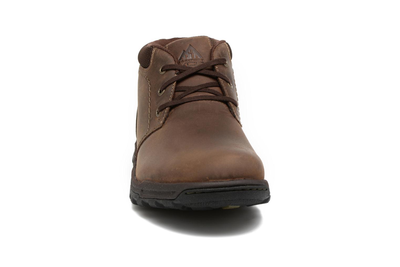 Bottines et boots Rockport TT Wp Mid Marron vue portées chaussures