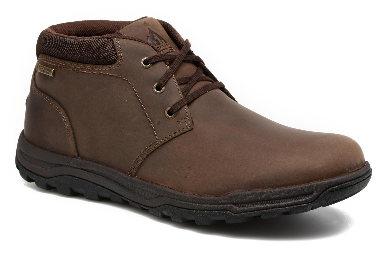 Bottines et boots Rockport TT Wp Mid Marron vue détail/paire