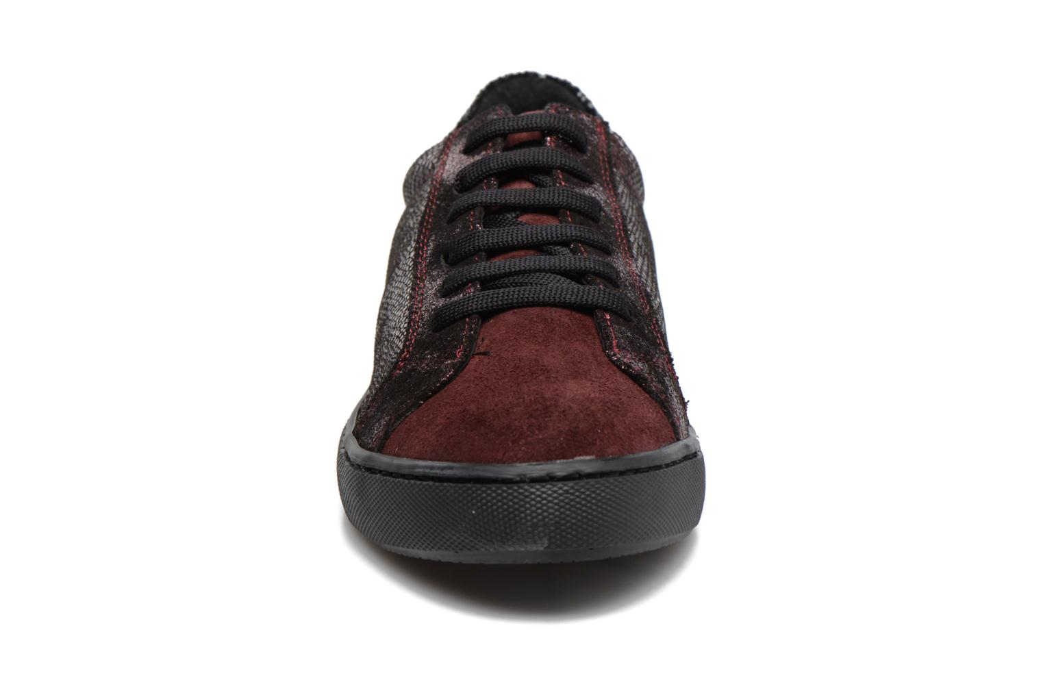 Trainers Georgia Rose Cemoi Burgundy model view