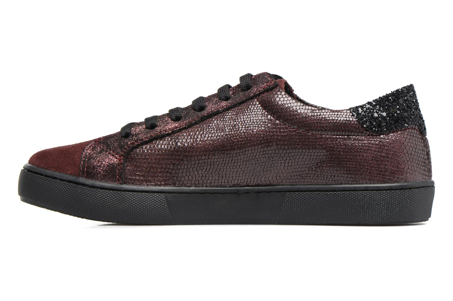 Sneakers Georgia Rose Cemoi Bordeaux se forfra