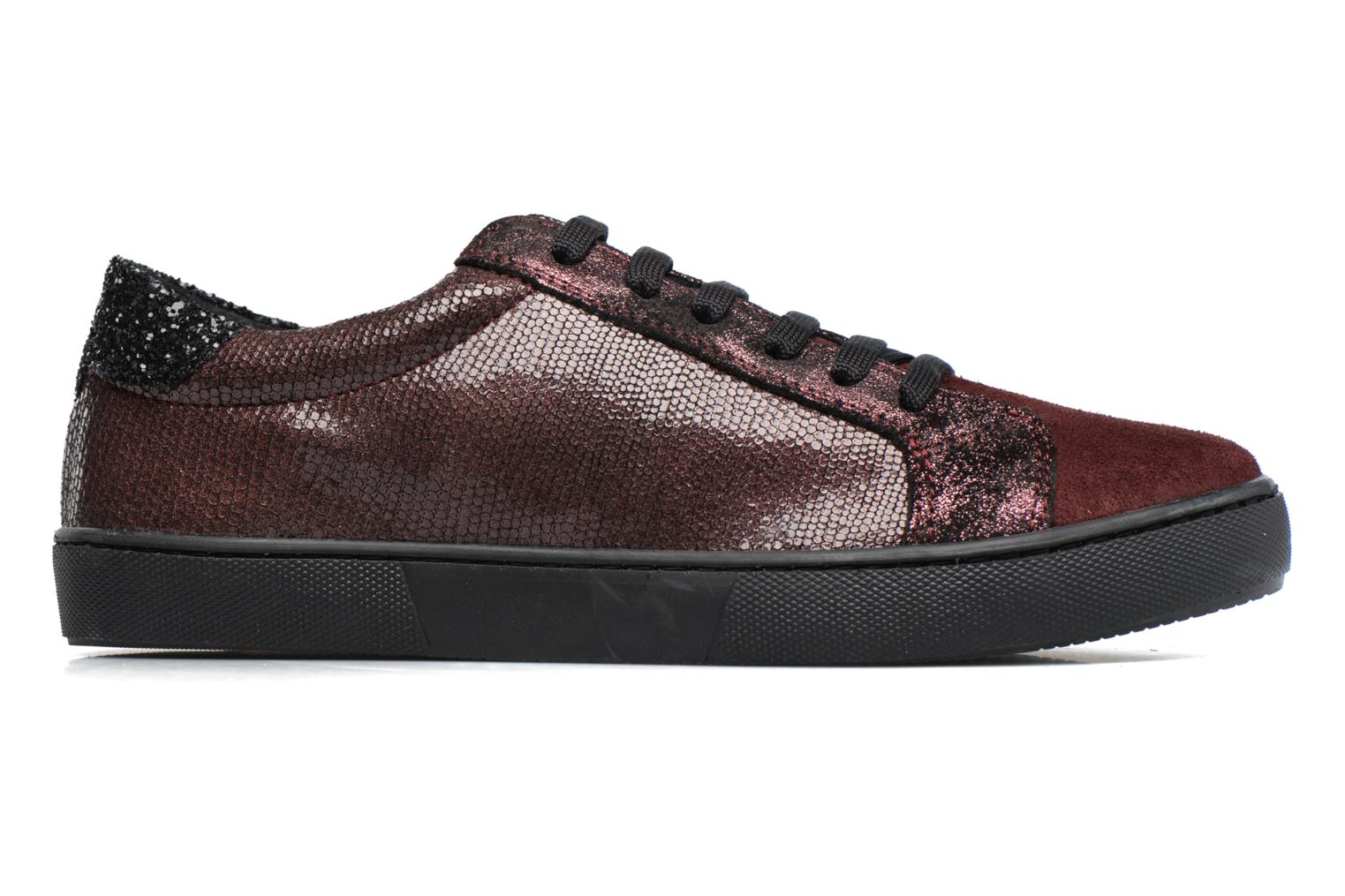 Trainers Georgia Rose Cemoi Burgundy back view