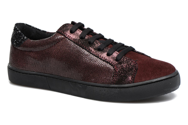 Sneakers Georgia Rose Cemoi Bordeaux detail