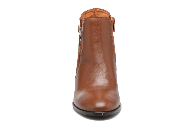 Bottines et boots Georgia Rose Cefema Marron vue portées chaussures