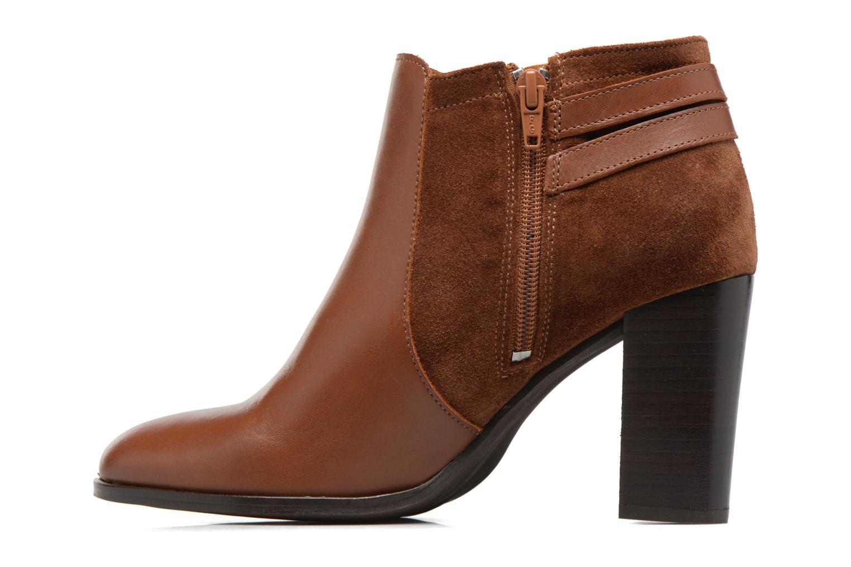 Bottines et boots Georgia Rose Cefema Marron vue face