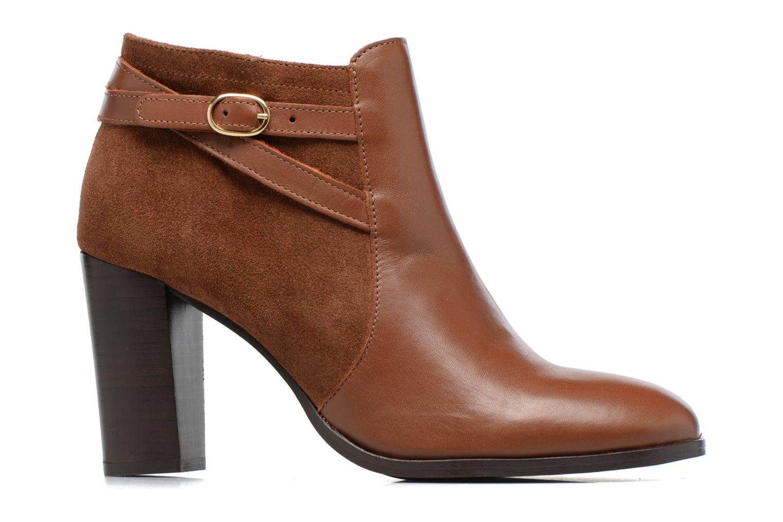 Bottines et boots Georgia Rose Cefema Marron vue derrière