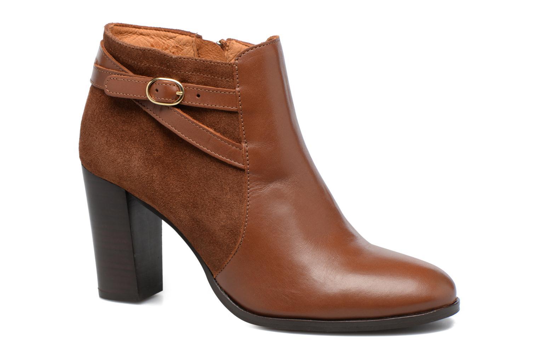 Bottines et boots Georgia Rose Cefema Marron vue détail/paire