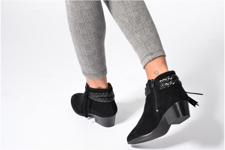 Bottines et boots Georgia Rose Cewest Marron vue bas / vue portée sac
