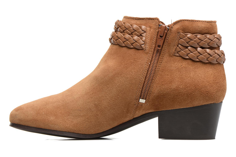 Bottines et boots Georgia Rose Cewest Marron vue face