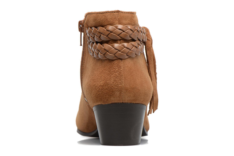 Bottines et boots Georgia Rose Cewest Marron vue droite