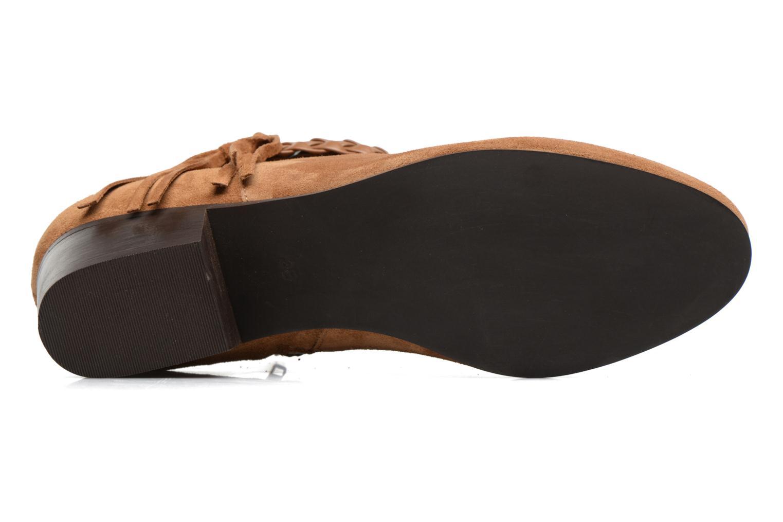 Bottines et boots Georgia Rose Cewest Marron vue haut